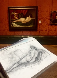 "Velasquez's ""Rokeby Venus"", at National Gallery"
