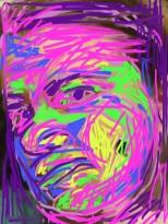 Portrait, 2013, digital painting