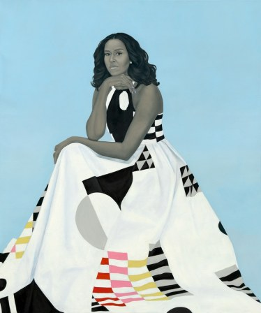 Michelle Obama, 2018. Image courtesy the artist.